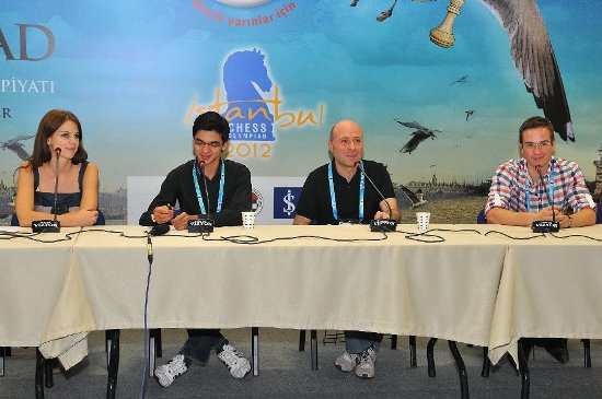 Press conference Anish Giri