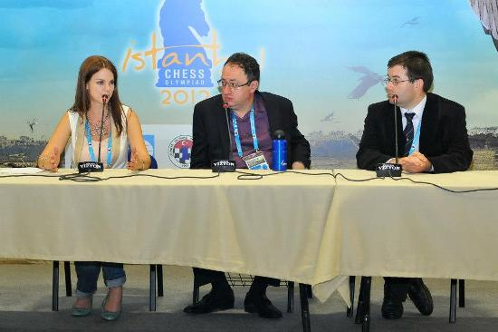 Press conference Boris Gelfand