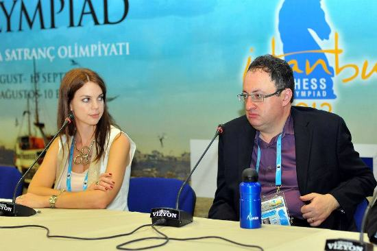 Press conference Boris Gelfand 1