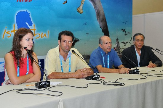 Press conference Cyprus