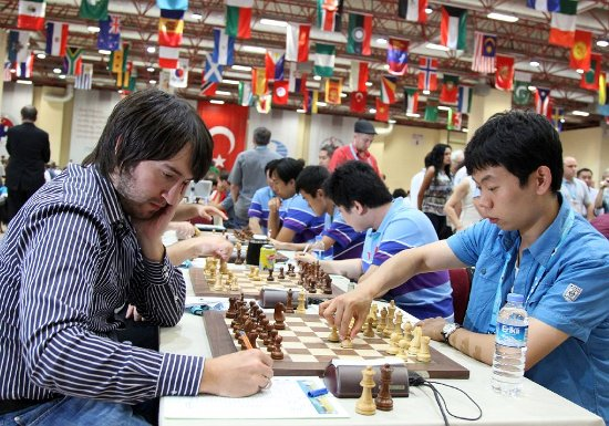 Round 8 Azerbaijan - China